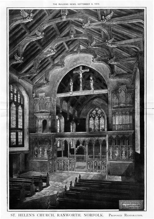 1910 – St. Helens Church, Ranworth, Norfolk