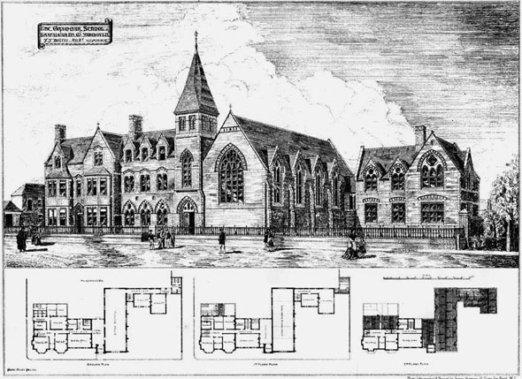 1875 &#8211; Grammar School, Trafalgar Road, Great Yarmouth, Norfolk