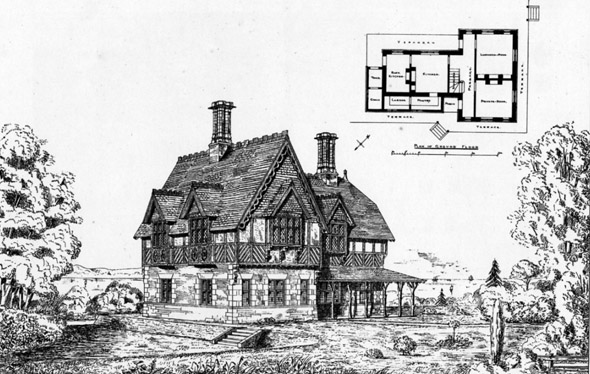 1874 &#8211; Shooting Lodge, Sandringham, Norfolk