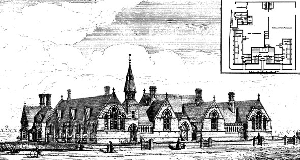 1875 &#8211; Schools, North Walsham, Norfolk