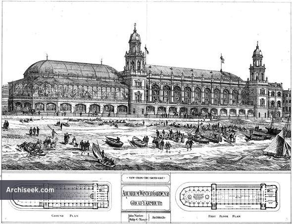 1875 – Aquarium & Winter Garden, Great Yarmouth, Norfolk