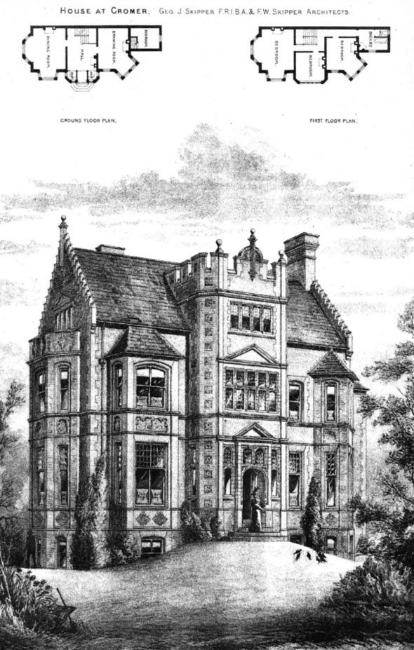 1899 &#8211; House at Cromer, Norfolk