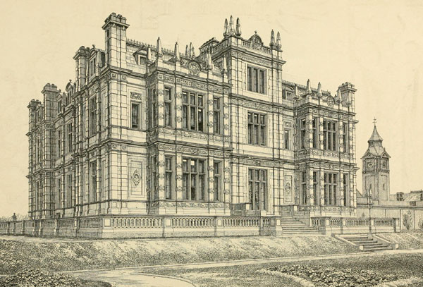 1851 &#8211; Bylaugh Hall, Norfolk