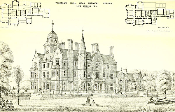 1873 – Taverham Hall, Norwich, Norfolk
