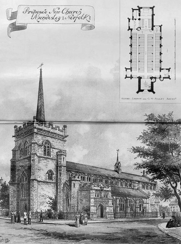 1898 – Church, Mundesley, Norfolk
