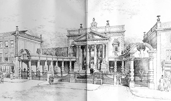 1899 – Design for Opera House, Norwich, Norfolk