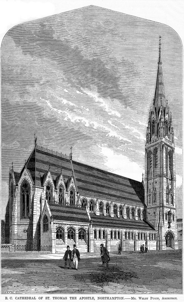 1864 – St Thomas the Apostle Cathedral, Northampton