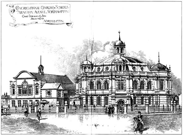 1903 – Congregational Church & Schools, Northampton