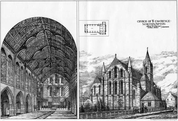 1877 &#8211; Church of St. Lawrence, Northampton