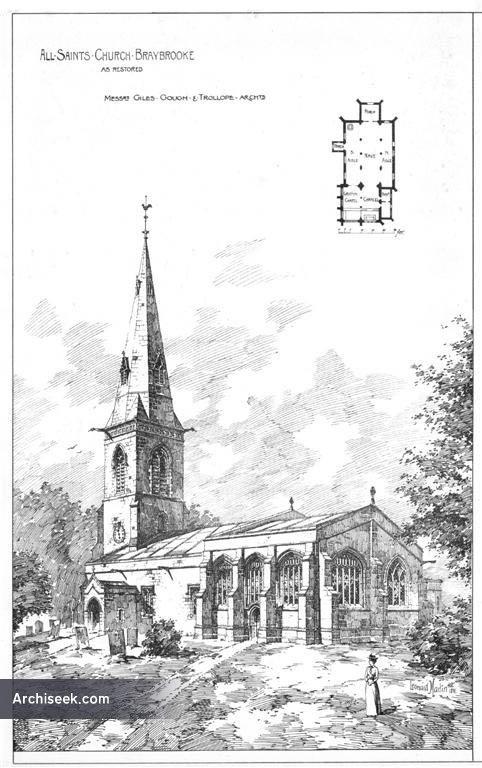 1891 – Church of All Saints, Braybrooke, Northamptonshire