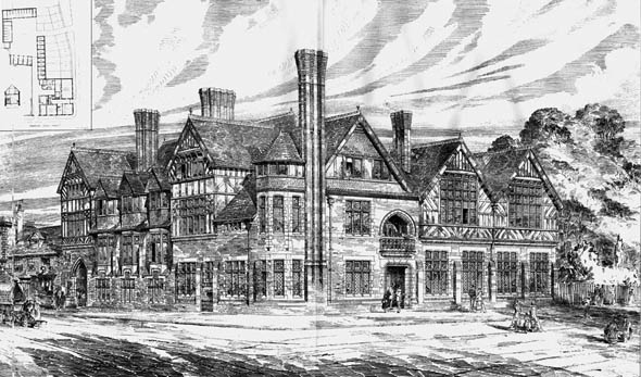 1877 – New Hotel, Bridge Street, Northampton, Northamptonshire