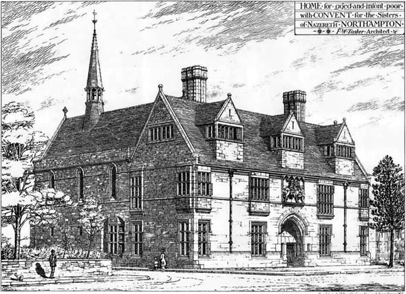1877 &#8211; Convent for the Sisters of Nazareth, Northampton