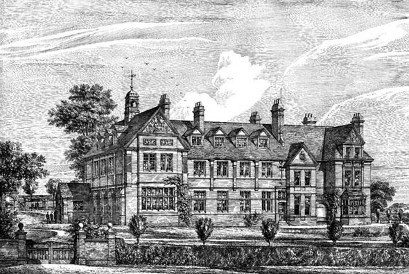1880 – New Grammar School, Wellingborough,  Northamptonshire