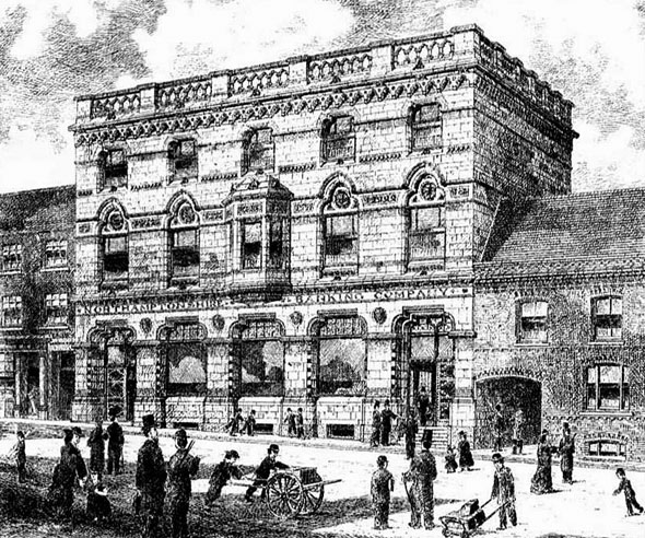1880 – Northamptonshire Banking Company, Wellingborough, Northamptonshire