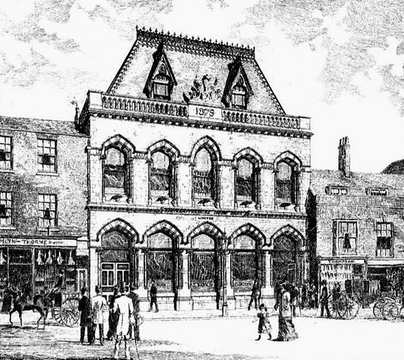 1880 – Northampton Union Bank, Wellingborough, Northamptonshire