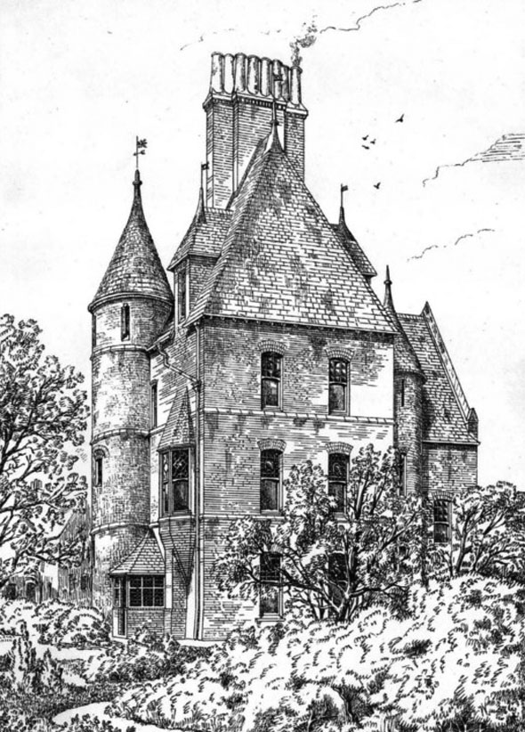 1879 &#8211; House at Northampton, Northamptonshire