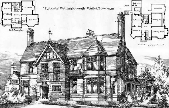 1879 &#8211; &#8220;Dybdale&#8221;, Wellingborough, Northamptonshire