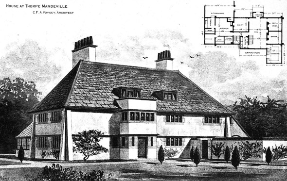 1898 – House at Thorpe Mandeville, Northamptonshire