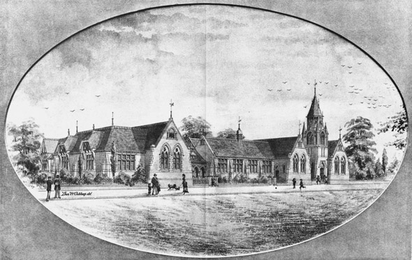 1888 &#8211; Design for Northhampton Board Schools