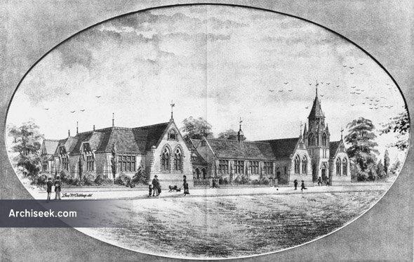 1888 – Design for Northhampton Board Schools