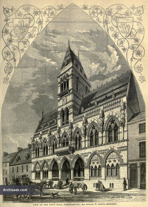 1864 – Northampton Guildhall, Northamptonshire