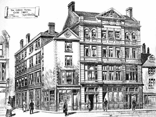 1897 – The Grand Hotel, Gold St., Northampton
