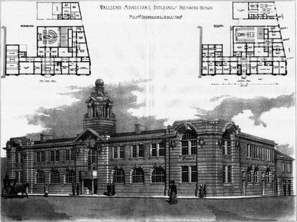 1906 – Wallsend Municipal Buildings, Northumberland
