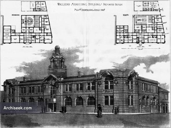 1906 – Wallsend Municipal Buildings, Northumberland