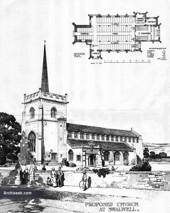 1906 – Church at Swalwell, Northumberland