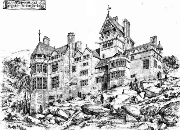 1877 – Cragside, Northumberland