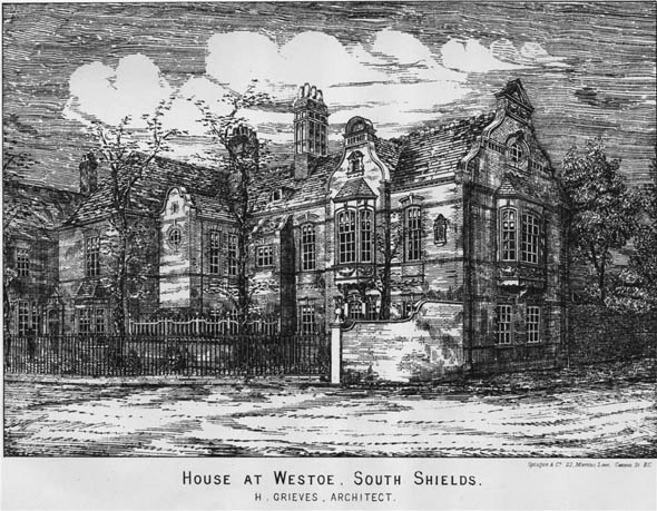 1883 – House at Westoe, Northumberland