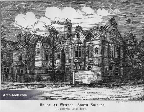 1883 – House at Westoe, Northumberland