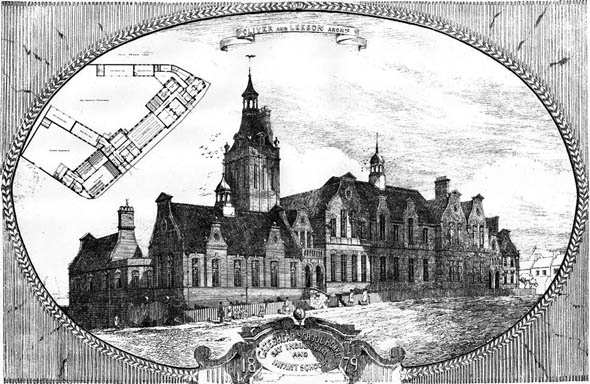 1880 – Day Industrial & Infants School, Gateshead, Northumberland