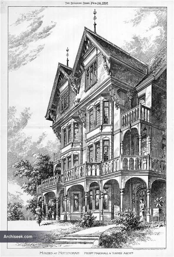 1897 – Houses, Nottingham, Nottinghamshire