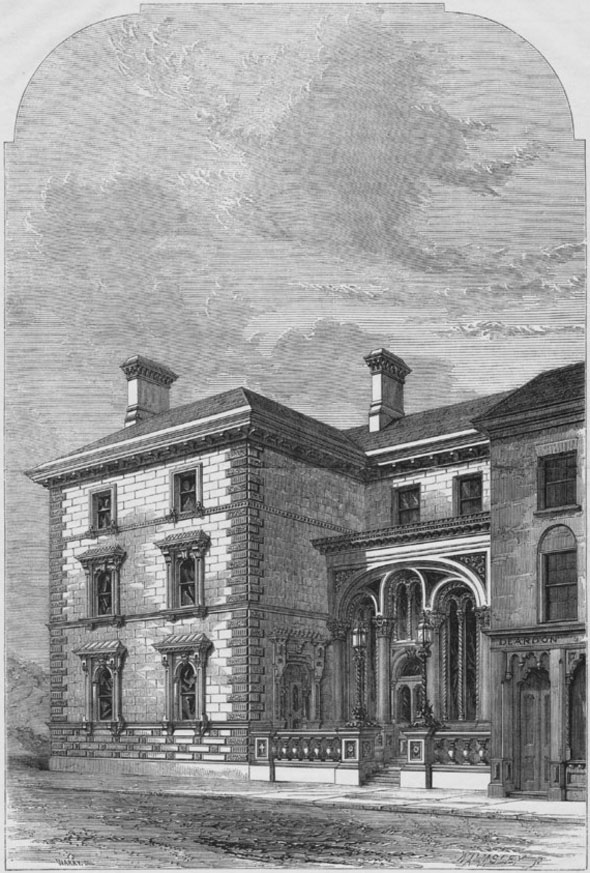 1860 &#8211; Messrs. Wright&#8217;s Bank, Nottingham, Nottinghamshire