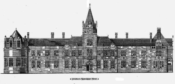 1877 &#8211; Academic Buildings, Nottingham, Nottinghamshire