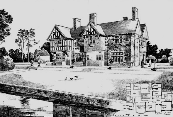 1902 – Additions to Manor House, Normanton on Soar, Nottinghamshire