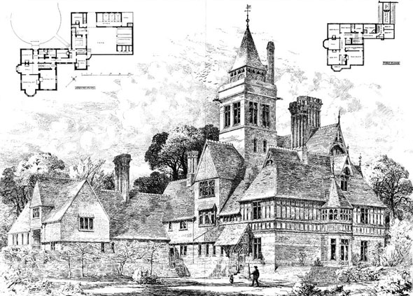 1874 – Beauvale House, Nottinghamshire