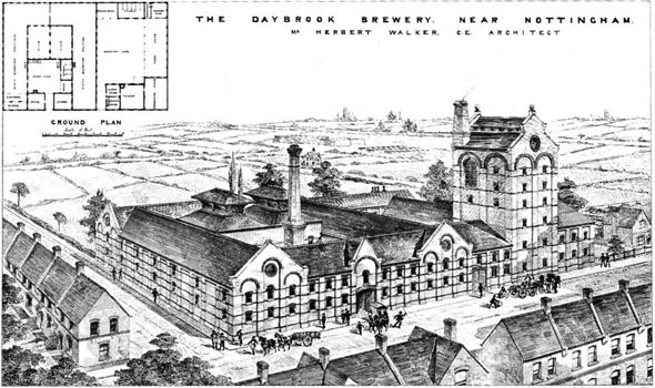 1881 &#8211; The Daybrook Brewery, Nottingham