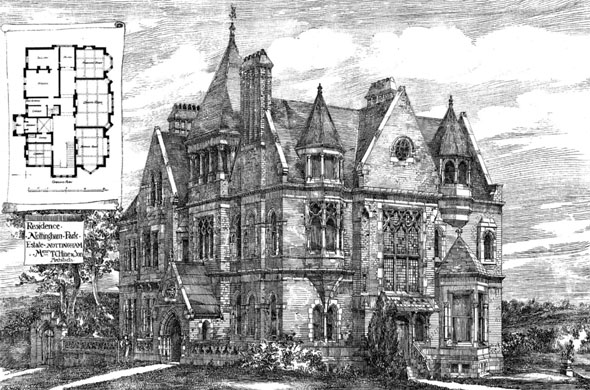 1885 – Residence, Nottingham Park Estate, Nottingham