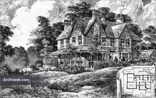 """1892 – """"Sunnybank"""", Mapperley Park, Nottingham, Nottinghamshire"""