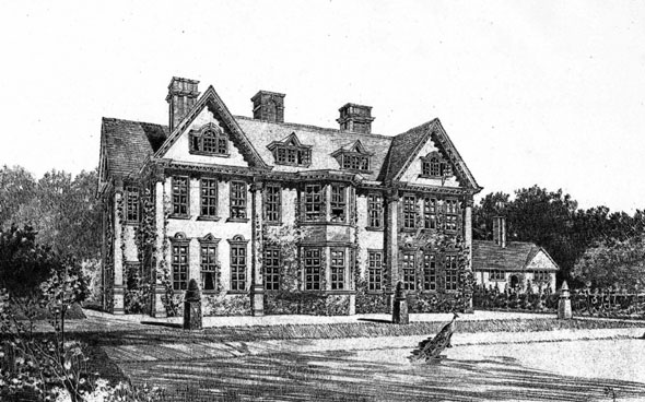 1899 &#8211; New House at Edwalton, Nottinghamshire