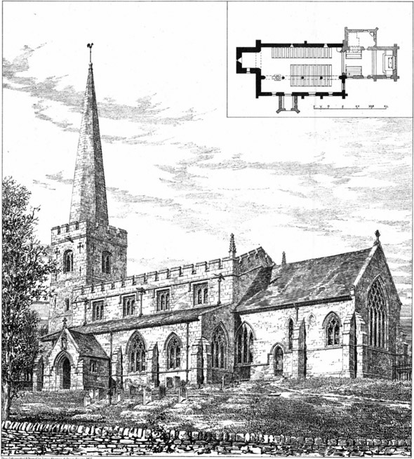 1886 – St. Mary's Church, Leake, Nottinghamshire