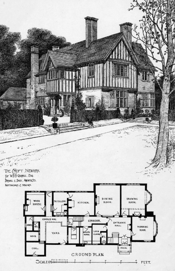 1901 &#8211; The Croft, Newark, Nottinghamshire