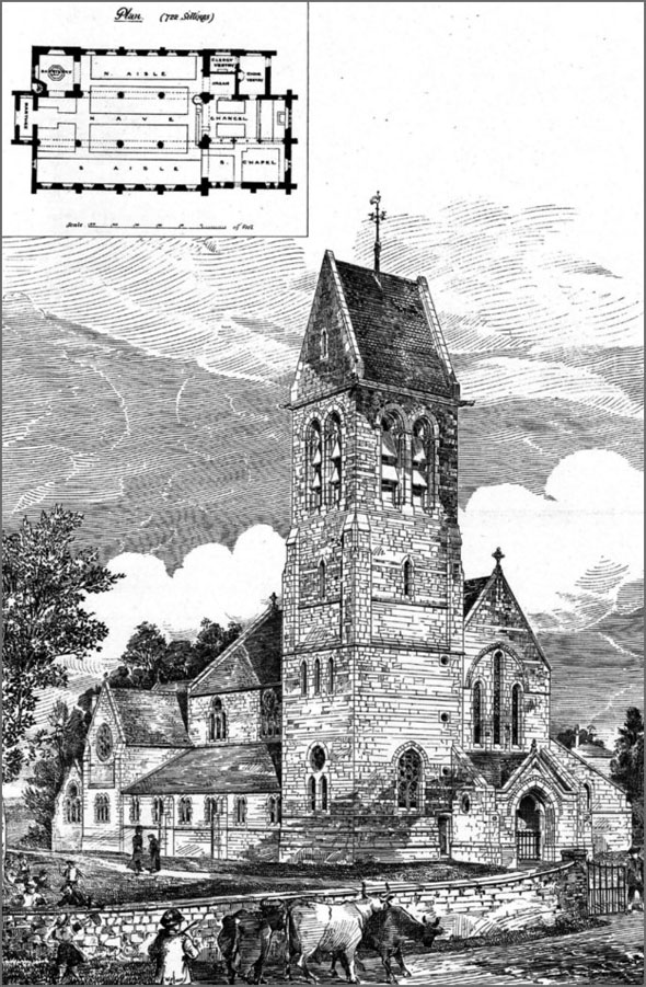 1880 – St Mary's Church, Radcliffe-on-Trent, Nottinghamshire