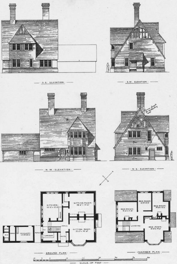 1874 – Parson's House, Moorgreen, Nottingham
