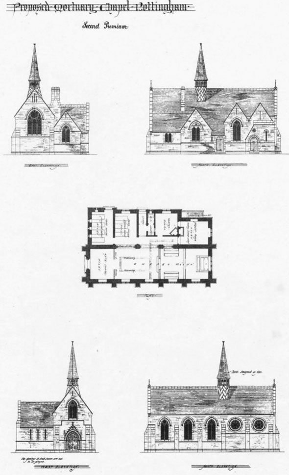 1877 &#8211; Mortuary Chapel, Nottingham