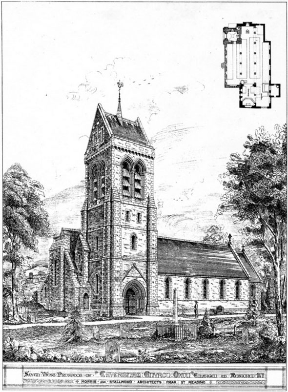 1878 – Church, Caversham, Oxfordshire