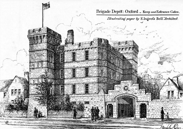 1880 &#8211; Brigade Depot, Oxford, Oxfordshire