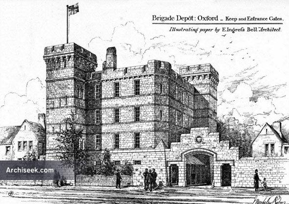 1880 – Brigade Depot, Oxford, Oxfordshire